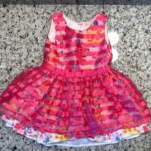 🎉 5/$15 EST 1989 Place Pink Fancy Toddler Dress